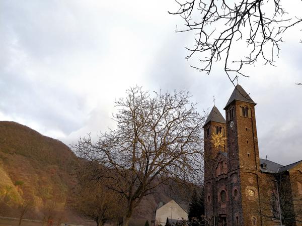 Weihnachtsstern Kirche